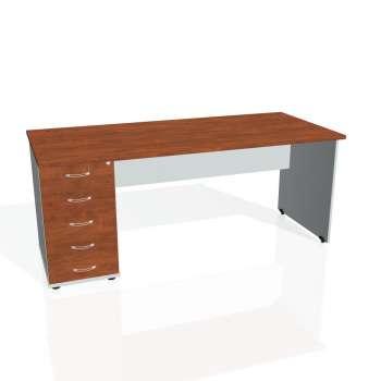 Psací stůl Hobis GATE GSK 1800 25, calvados/šedá