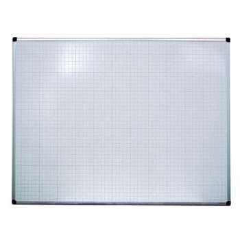 Tabule magnetická s rastrem Office Depot - 90 x 120 cm, emailová