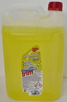 Čistící prostředek - univerzální TRIM, citron, 5 l