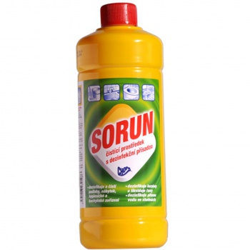 Čistič SORUN - k dezinfekci a čištění, 1 l