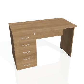 Psací stůl Hobis GATE GEK 1200 25, višeň/višeň