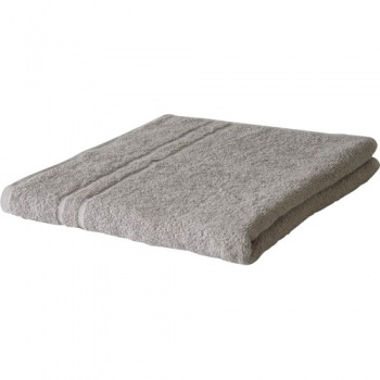 Ručník froté - šedý, 50 x 100 cm
