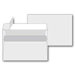 Obálky C6 - samolepicí s krycí páskou, 50 ks