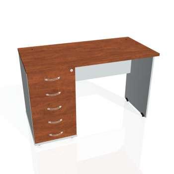 Psací stůl Hobis GATE GEK 1200 25, calvados/šedá