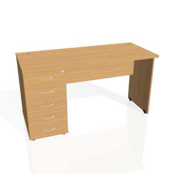 Psací stůl Hobis GATE GEK 1400 25, buk/buk