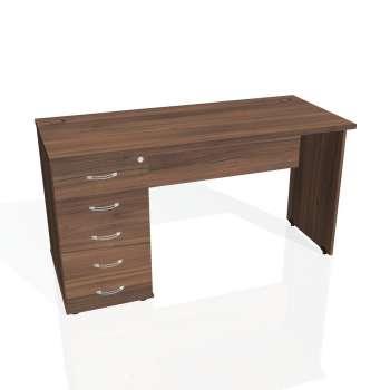 Psací stůl Hobis GATE GEK 1400 25, ořech/ořech