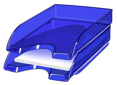 Zásuvka CepPro Happy - A4, plastová, modrá