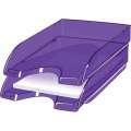 Zásuvka CepPro Happy - A4, plastová, fialová