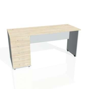 Psací stůl Hobis GATE GEK 1600 25, akát/šedá