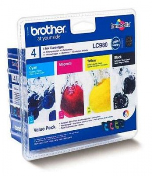 Sada cartridge Brother LC980VALBP