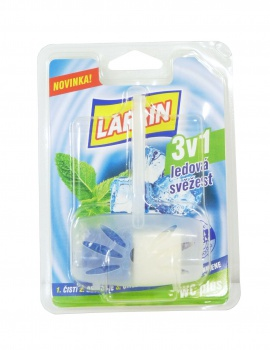 WC deodorant - Larrin, 3 v 1 - Mountain fresh