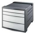 Zásuvkový box Esselte Europost VIVIDA, bílá/šedá