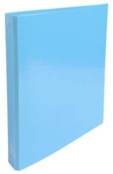 Čtyřkroužkový pořadač Exacompta Iderama - A4, laminovaný karton, hřbet 4,0 cm, modrá