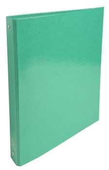 Čtyřkroužkový pořadač Exacompta Iderama - A4, laminovaný karton, hřbet 4,0 cm, zelený