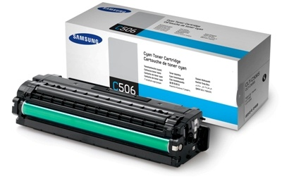 Toner Samsung CLT-C506S - azurový