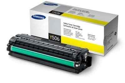 Toner Samsung CLT-Y506S - žlutá