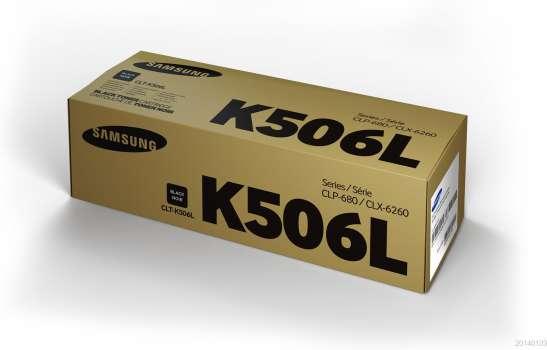 Toner Samsung CLT-K506L - černá