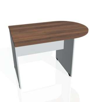 Přídavný stůl Hobis GATE GP 1200 1, ořech/šedá