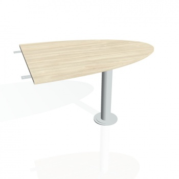 Přídavný stůl Hobis GATE GP 1200 2, akát/kov