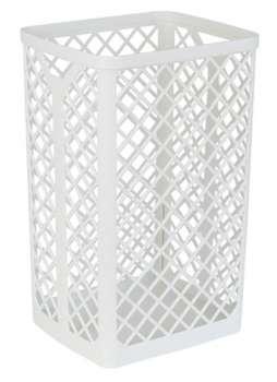Koš na papírové ručníky - plastový, velký, bílá , 35 l