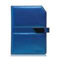 Diář ADK Carbon5 Slim - A5, týdenní, modrý