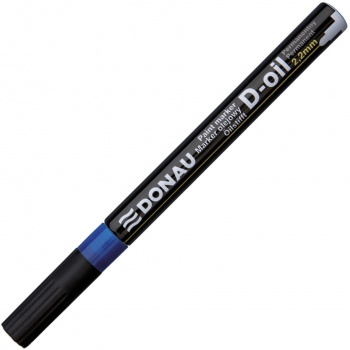 Popisovač lakový Donau, 2,2 mm, modrá