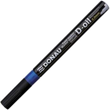 Popisovač lakový Donau, 2,2 mm, modrý