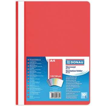 Rychlovazače DONAU A4, červené, 10 ks