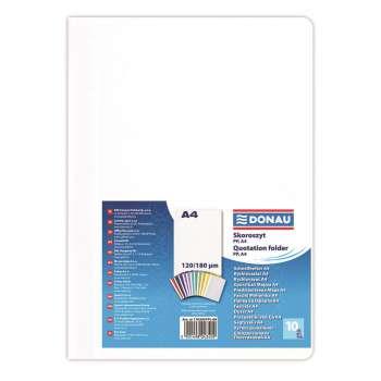 Rychlovazače DONAU A4, bílé, 10 ks