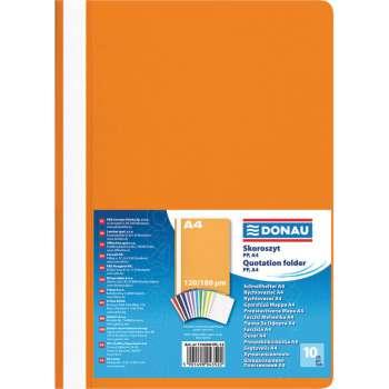 Rychlovazače DONAU A4, oranžové, 10 ks