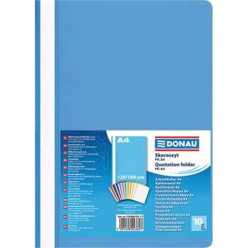 Rychlovazače DONAU A4, světle modrá , 10 ks