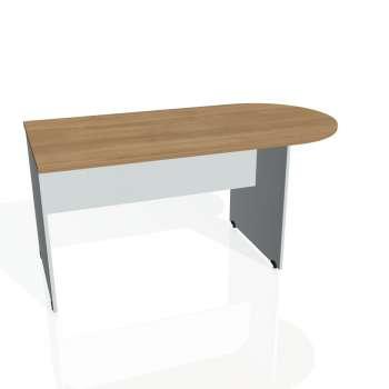 Přídavný stůl Hobis GATE GP 1600 1, višeň/šedá