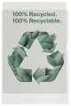 """Prospektové obaly """"L"""" - A4, recyklované, čiré, krupičkové, 100 mic, 100 ks"""
