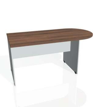 Přídavný stůl Hobis GATE GP 1600 1, ořech/šedá