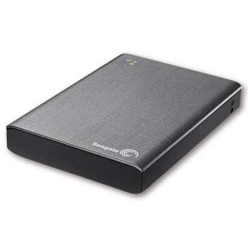 """Externí bezdrátový harddisk Seagate Wireless Plus 2.5"""" - 1 TB, stříbrná"""
