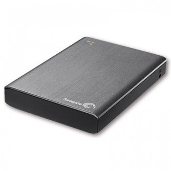 """Externí bezdrátový harddisk Seagate Wireless Plus 2.5"""" - 1 TB, stříbrný"""
