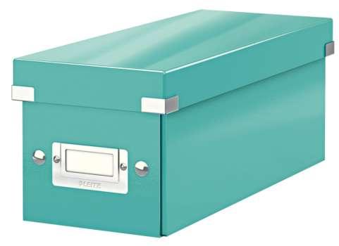 Archivační krabice na CD LEITZ WOW Click-N-Store - A4, ledově modrá