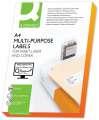 Univerzální etikety Q-Connect - bílé, 70 x 42,3 mm, 2100 ks