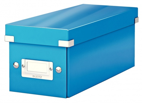 Krabice na CD LEITZ Click-N-Store - A4, modrá