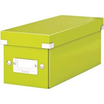 Krabice na CD LEITZ Click-N-Store - A4, zelená