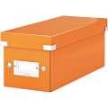 Krabice na CD LEITZ Click-N-Store - A4, oranžová