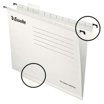 Papírové závěsné desky Pendaflex Standard, bílé, 25 ks