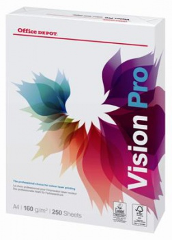 Kancelářský papír Office Depot Vision Pro - A4, 160 g, 250 listů