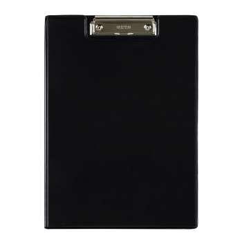 Zavírací desky Office Depot s klipem - A4, černé