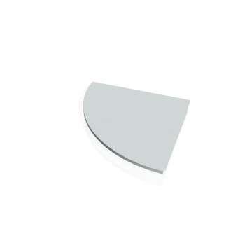 Přídavný stůl Hobis GATE GP 900 levý, šedá
