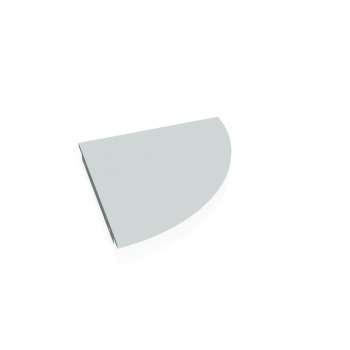 Přídavný stůl Hobis GATE GP 900 pravý, šedá