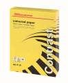 Barevný papír Office Depot Contrast  A4 - intenzivně žlutý, 120 g/m2, 250 listů