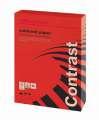 Barevný papír Office Depot Contrast  A4 - intenzivně červený, 120 g/m2, 250 listů