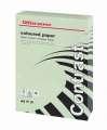 Barevný papír Office Depot Contrast - A4, pastelově zelená, 120 g, 250 listů