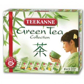 Kolekce čajů Teekanne Green and White, 30 x 1,75 g